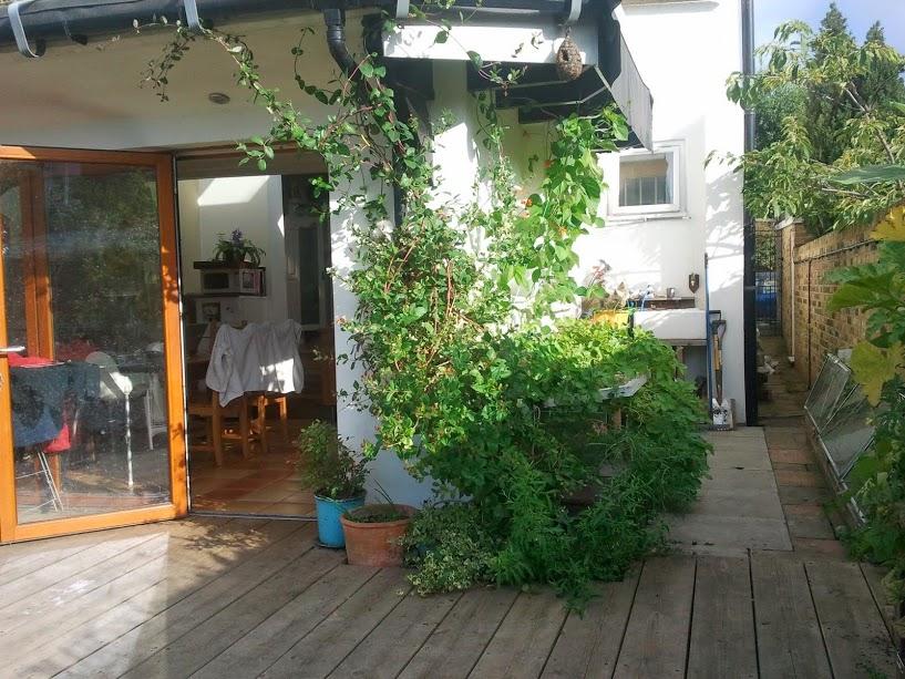 extension deck exterior